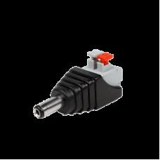 Adaptador tipo jack de 3.5 mm macho con terminales de presión