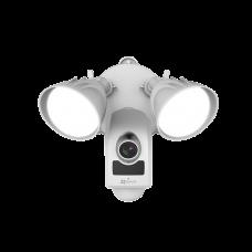 Cámara IP 2 Megapixeles / Luz Ultrabrillante / Lente 2.8 mm / Uso Residencial / Grabación en la Nube / Audio de dos vías / Sirena Integrada / Sensor PIR / Micro SD / IP65 / H.264.