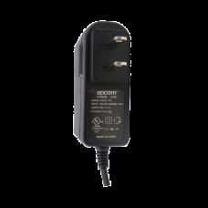 Fuente de poder de 6 Vcd regulado @ 1A; UL; Voltaje de entrada de 100-240 Vca