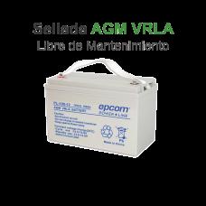 Acumulador Tecnología VRLA AGM 12 V 100 Ah para Aplicación Fotovoltaica