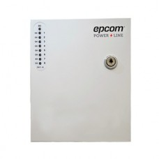 Fuente de alimentación profesional de 24 Vca @ 8 Amper, para 8 cámaras, voltaje de entrada : 96-264 Vca