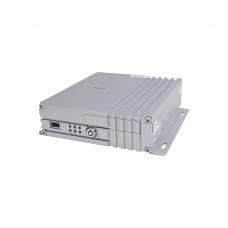 Vídeo Grabador Móvil AHD, incluye módulos de 3G, GPS y WIFI. Soporta 4 canales AHD hasta 2MP.