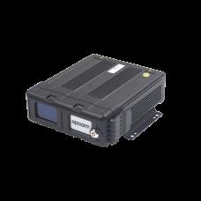 Videograbador móvil tríbrido, soporta 4 canales AHD hasta 2MP + canal IP hasta 2MP. Compresión de vídeo H.265