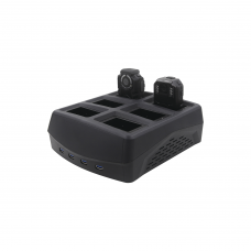 Bahía para descarga de información de 6 XMRX5 conexión rápida más 4 vía USB